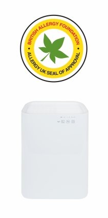 Purificator de aer MeacoClean CA-HEPA 47x5, Lampa UV-C, Ionizare, Carbune activ, True HEPA, Pentru 32mp