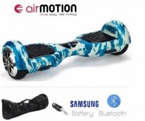 Hoverboard AirMotion Basic Splash Blue 6 5 inch