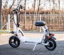 Motocicleta electrica Airwheel K10+ White, Baterie 12Ah