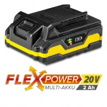 Acumulator suplimentar Flexpower 20V 2,0 Ah