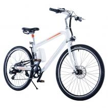 Bicicleta electrica Airwheel R8P White, Viteza max. 20km/h, Putere motor 235W, Baterie LG 214.6Wh/36V