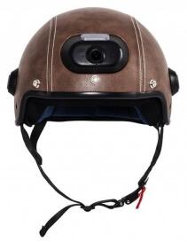 Imagine  Casca Inteligenta Airwheel C6 Brown Conectare Bluetooth Wifi Inregistrare