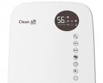 Resigilat - Umidificator si purificator Clean Air Optima CA607W Lampa UV-C Ionizare Difuzor aroma Display Timer imagine