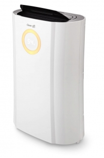 Resigilat! Dezumidificator si purificator de aer Clean Air Optima CA707, 20 l/zi, Debit 120 mc/h, Pentru 45mp, Display, Timer
