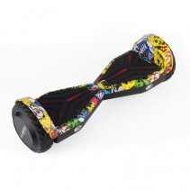Hoverboard AirMotion H1 Yellow Graffiti 6 5 inch title=Hoverboard AirMotion H1 Yellow Graffiti 6 5 inch
