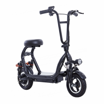 Imagine Motocicleta Electrica Airwheel Black Baterie 12ah