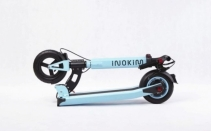 Trotineta electrica Myway Inokim Light 2 Super Blue, Display, Viteza max. 35 km/h, Putere motor 350W, Baterie Li-Ion 36V/10.4A