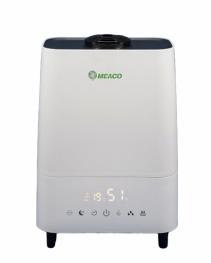 Resigilat! Umidificator si purificator MeacoMIST DELUXE 2020 Filtru HEPA si Carbune Lampa UV-C Ionizare Difuzor aroma Timer