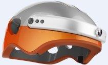 Casca inteligenta Airwheel C5, inregistrare video, conectare Bluetooth, Wi-Fi Orange