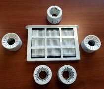 Pachet A filtre Meaco Mist - 5 filtre pt apa si 1 pentru aer imagine