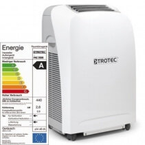 Imagine Aer Conditionat Portabil Trotec Pac 2600 S Capacitate 9.000 Btu Debit