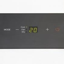 Aer conditionat portabil Trotec PAC 2100 X, Capacitate 7.000 Btu, Debit 319mc/ora, Telecomanda, Display, Timer, Pentru 65mc