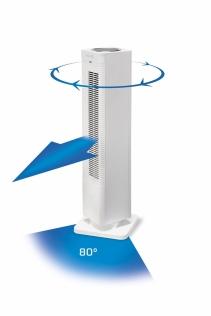 Aeroterma 2 in 1 Clean Air Optima CA-904W, Incalzire si Ventilare, Timer, Telecomanda, Display digital