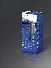 Purificator de aer Clean Air Optima CA401, Plasma, Ionizare, Filtru electrostatic, Lampa UV,-C Pentru 45mp, 3 trepte