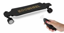 Skateboard Electric Koowheel NEW D3M Black,Putere motor 2 x 350W, Baterie Li-Ion 36V / 5500 mAh / 198Wh