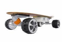 Skateboard Electric Airwheel M3, Viteza max. 20km/h, Putere motor 350W, Baterie LG 162,8 Wh/4.4Ah, Autonomie aprox. 30km