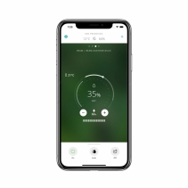 Umidificator DUUX Beam White, WiFi, Aromaterapie, Rata umidificare 350 ml/h, Pentru 40 mp