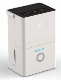 Dezumidificator Alecoair D20 Grande  Wi-fi  20 L/ Zi  Mod Uscare Rufe  Display Digital  Higrostat  Timer On/off