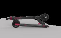 Trotineta electrica Myway Inokim Mini Miracle Black, Viteza max. 18 km/h, Putere motor 200W, Baterie Li-Ion 21.7V/7.8 AH