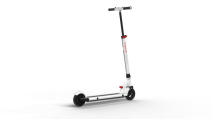 Trotineta electrica Myway Inokim Mini Miracle White, Viteza max. 18 km/h, Putere motor 200W, Baterie Li-Ion 21.7V/7.8 AH