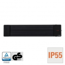 Radiator obscur IRD1200 cu 3 trepte de incalzire pana la 1200 W display LED telecomanda imagine alecoair.ro