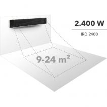 Radiator obscur IRD2400 cu 3 trepte de incalzire pana la 2400 W, display LED, telecomanda
