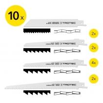 Set panze de taiere pentru lemn/metal/plastic Trotec, 10 bucati