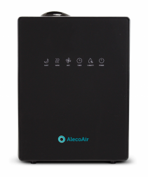 Umidificator cu ultrasunete AlecoAir U30 IONIC Black Ionizare Higrostat Timer Telecomanda Display Digital imagine alecoair.ro