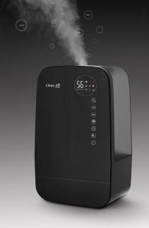 Umidificator si purificator Clean Air Optima CA607B, Lampa UV-C, Ionizare, Difuzor aroma, Display, Timer
