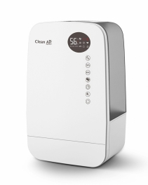 Umidificator si purificator Clean Air Optima CA607W Lampa UV-C Ionizare Difuzor aroma Display Timer imagine alecoair.ro