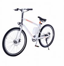 Bicicleta electrica Airwheel R8 White , Viteza max. 20km/h, Putere motor 235W, Baterie LG 214.6Wh/36V