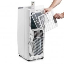 Aer conditionat portabil Trotec PAC 2610 E, Capacitate 9.000 Btu, Debit 330mc/ora, Telecomanda, Display, Timer, Pentru 85mc