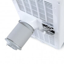 Aer conditionat portabil Trotec PAC 4700 X, Capacitate 16.000 Btu, Debit 550mc/ora, Display, Timer, Pentru 62mp