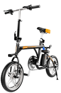 Imagine Bicicleta Electrica Pliabila Airwheel R3 Black Viteza Max. 20kmh