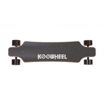 Skateboard Electric Koowheel NEW D3M Black, Viteza max. 35-40km/h, Putere motor 2 x 350W, Baterie Li-Ion 36V / 5500 mAh / 198Wh