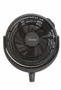 Ventilator de aer Bimar VPC30, Consum 45 W/h, Diametru elice 40 cm, 3 trepte, 4 nivele inaltime 52, 72, 77.5, 98cm