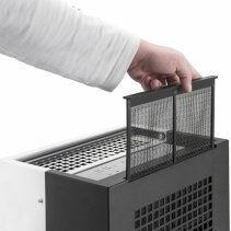 Dezumidificator Trotec TTK105S, 30l/zi, Debit 240mc/h, Pentru spatii de pana la 90mp,Higrostat reglabil, Display digital, Timer