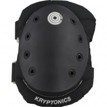 Genunchiere si cotiere Kryptonics Black Medium/Large