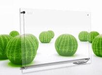 Panou infrarosu din sticla transparenta Ensa P750G Visio