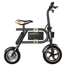 Bicicleta electrica foldabila Inmotion P1F Black, Viteza max. 30km/h, Putere motor 350W, Baterie  LG 36V  (8.7Ah)