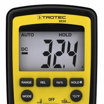 Multimetru digital Trotec BE50