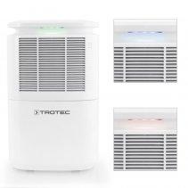 Dezumidificator Trotec TTK30E, 12 l /24h, Debit 120 mc/h, Pentru 15 m², Higrostat, Timer, Display digital, Afisare umiditate