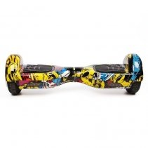 Hoverboard Koowheel S36 Yellow Graffiti 6,5 inch