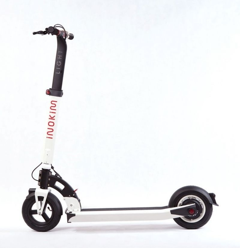 Trotineta electrica Myway Inokim Light Hero White, Display, Viteza max. 27 km Motor 300W, Baterie Litiu-Ion: 36V/7.8Ah