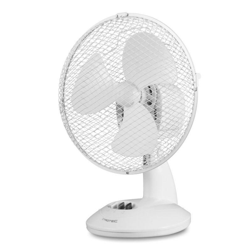 Ventilator de aer Trotec TVE 9, Consum 30 W/h, 2 trepte, Debit 555,6mc/h, 3 palete ventilare