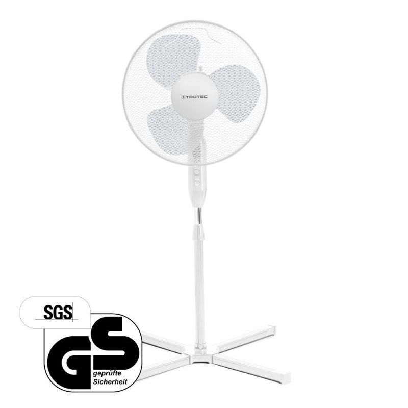 Ventilator de aer Trotec TVE 15 S, Putere 40W, 3 trepte, 3 palete de ventilare