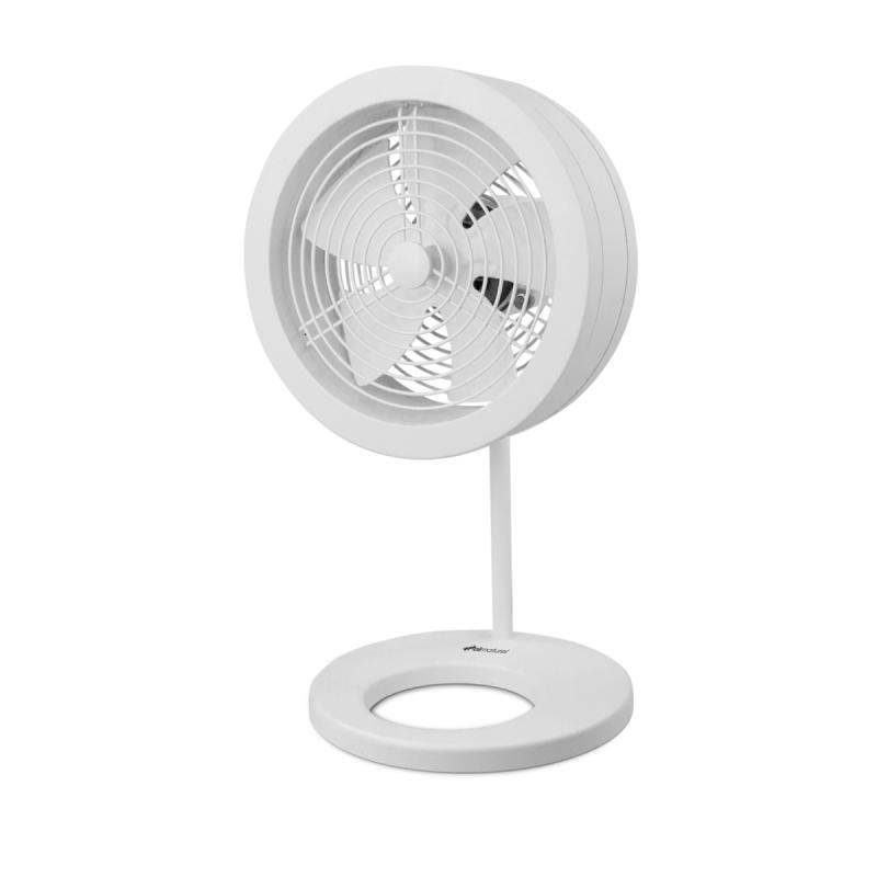 Ventilator de aer Airnaturel Naos Alb,  Debit 860mc/h, Consum 32W/h, Pentru 20mp, 1 treapta ventilare