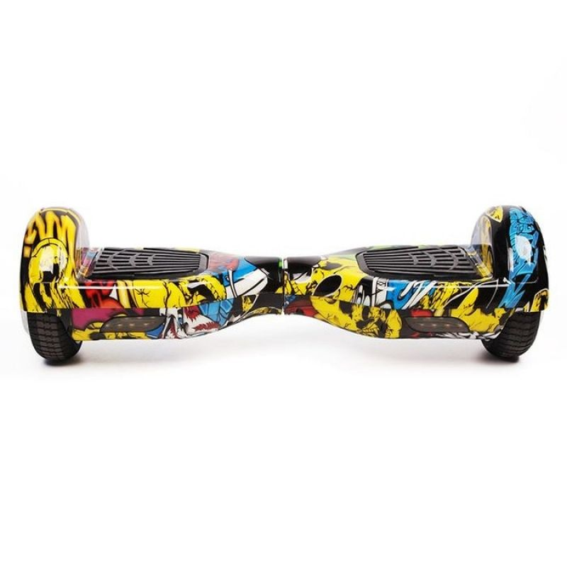 Hoverboard Koowheel S36 Yellow Graffiti 6,5 inch