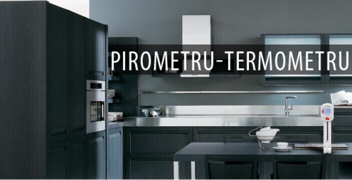 Pirometru / Termometru (Masoara temperatura din aer sau la suprafata materialului)