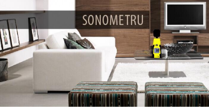 Sonometru (Masoara nivelul sonor)